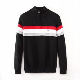 新作☆トミーヒルフィガー 男女兼用 ニットセーター 高品質 色選択