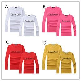 カルバンクライン シンプル 長袖tシャツ スウェット 男女兼用 多色 人気新品 カジュアル