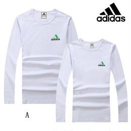 新入荷!Adidas アディダス tシャツ 運動 長袖 部屋着 カジュアル 多色 スウェット 人気新品 tシャツ 男女兼用 ウィメンズファッションT018