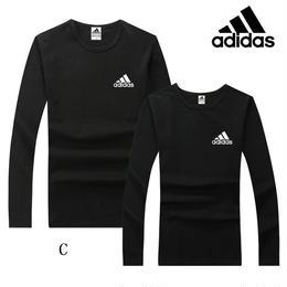 Adidas 激安 アディダス 長袖tシャツ 運動 部屋着 多色 スウェット 人気新品 tシャツ 男女兼用 ウィメンズファッションT017
