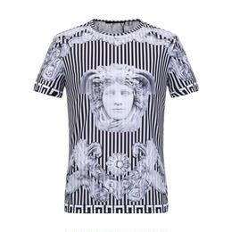 激安!新入荷 Versace ベルサーチ Tシャツ 男女兼用 2色 名画 人気 春 半袖