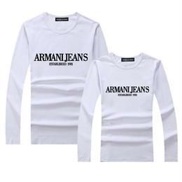 アルマーニ ARMANI 新入荷! 大柄 人気新品 長袖 tシャツ 男女兼用150