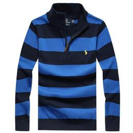 ポロ ラルフローレン 長袖 ポロシャツ ニット セーター 激安 上質 多色 人気新品 メンズ愛用 男女兼用