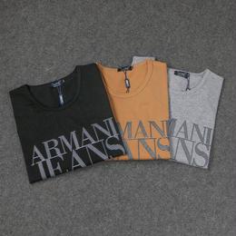 アルマーニ  ARMANI  Tシャツ 長袖 3色 人気 男女兼用