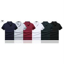 アルマーニ 上質 ポロシャツ 夏 半袖 シャツ メンズ愛用 メンズファッション ウィメンズファッション 男女兼用