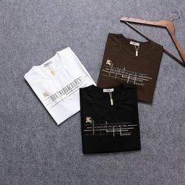 激安!バーバリー 半袖 Tシャツ メンズファッション 3色 最新 人気 男女兼用 カジュアル