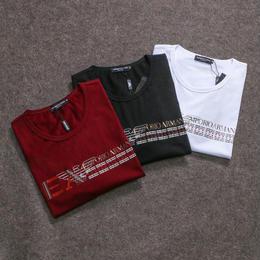 エンポリオ・アルマーニ/ARMANI 新入荷 激安! メンズファッション 男女兼用 半袖 Tシャツ 多色選択
