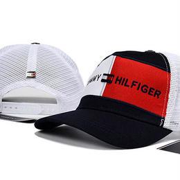 トミーヒルフィガー 人気新品 2色 男女兼用 夏 キャップ 帽子 日焼け止め カジュアル