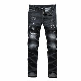 新作☆クロムハーツ 新入荷 デニム パンツ ジーンズ メンズ愛用 人気新品
