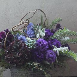 フラワーアレンジメント ギフト arrangement   winter -spring  L size