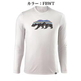 パタゴニア/メンズ・キャプリーン・デイリー・ロングスリーブ・グラフィッック・Tシャツ