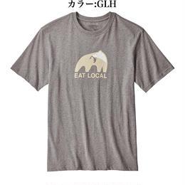 パタゴニア/メンズ・イート・ローカル・アップストリーム・コットン・Tシャツ