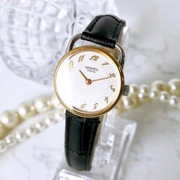 HERMES エルメス アルソー コンビ ベルト2色付 腕時計