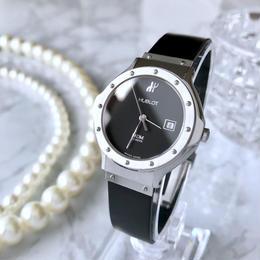 HUBLOT ウブロ クラシック デイト クォーツ レディース 腕時計