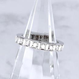 Cartier カルティエ ラニエール K18WG ダイヤモンド 16P 6号 リング