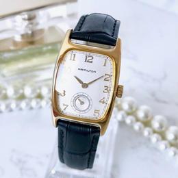 HAMILTON ハミルトン スクエア スモセコ ベルト2色付 腕時計