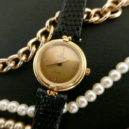 OMEGA オメガ GOLD デビル ラウンド 腕時計