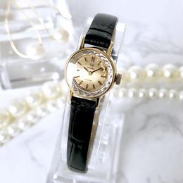 OMEGA オメガ カットガラス OH済 デビル ベルト2色付 腕時計