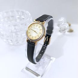 YSL サンローラン ベルト2種付 ラウンドフェイス 腕時計