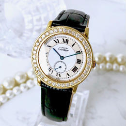 Cartier カルティエ マストロンド MM ベルト2色付  腕時計