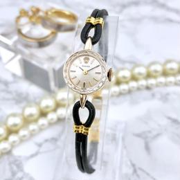 ROLEX ロレックス K14YG カクテルウォッチ 手巻き 腕時計
