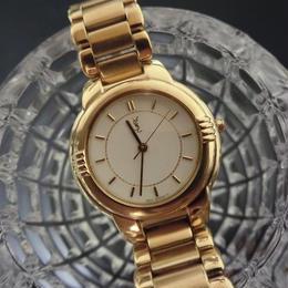 YSLイヴサンローラン フルゴールド 腕時計
