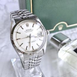 ROLEX ロレックス デイトジャスト オイスター  K18WGベゼル  メンズ  腕時計
