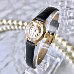 OMEGA オメガ K18YGGP デビル カットガラス 手巻き 腕時計