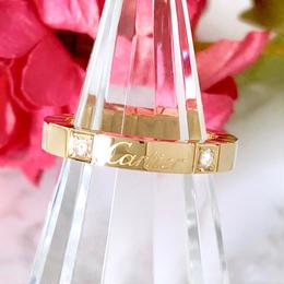 Cartier カルティエ ラニエール ダイヤモンド 2P  リング