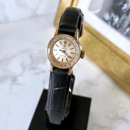 OMEGA オメガ  OH済 デビル カットガラス ベルト2色付 ゴールド 腕時計