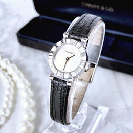 Tiffany ティファニー アトラス レディース クォーツ 腕時計