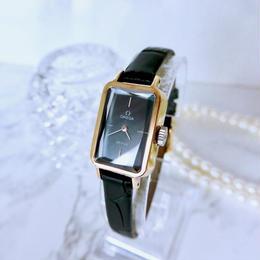 OMEGA オメガ  デビル  カットガラス スクエア 手巻き レディース 腕時計