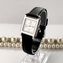 TIFFANY&Co.  ティファニー ベルト2種付き スクエアフェイス 腕時計