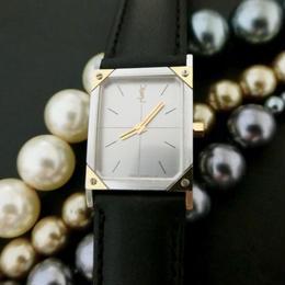 YSL イヴサンローラン スクエア 腕時計
