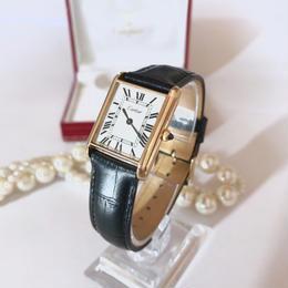 Cartier カルティエ タンク 手巻き 腕時計