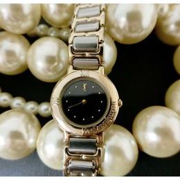 イヴサンローラン GOLDコンビ 腕時計
