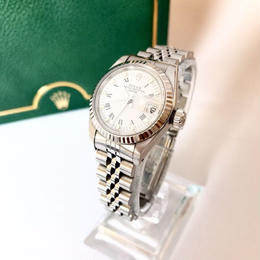 ROLEX  ロレックス K18ベゼル デイトジャスト 腕時計