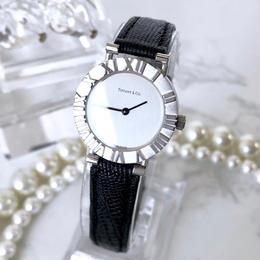 Tiffany ティファニー アトラス ベルト2色付き シルバー  腕時計