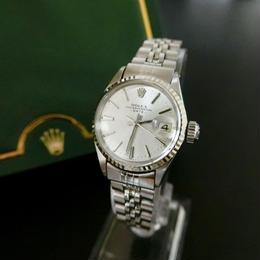 ROLEXロレックス OH済 デイト K18WGベゼル 腕時計