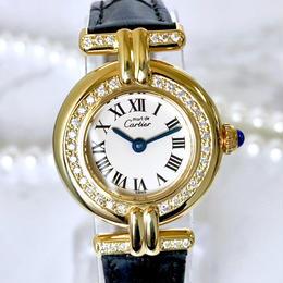 Cartier カルティエ コリゼ ベルト2色付 ダイヤモンド40P  腕時計