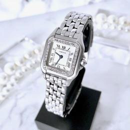 Cartier カルティエ パンテール SM ダイヤモンド  33P クォーツ  レディース 腕時計
