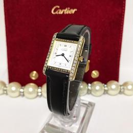 Cartier カルティエ タンク 52Pダイヤ 腕時計