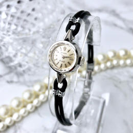 ROLEX ロレックス オーキッド カットガラス シルバー 手巻き 腕時計