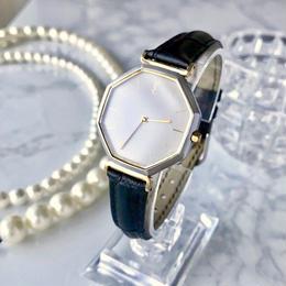 YSL イヴ・サンローラン コンビ ホワイト文字盤 クォーツ レディース 腕時計