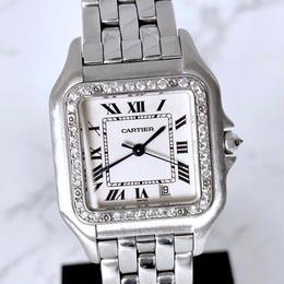 Cartier カルティエ パンテール MM ダイヤモンド 37P  腕時計