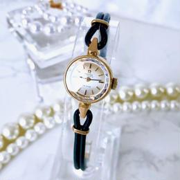 OMEGA オメガ デビル カットガラス ゴールド 自動巻 腕時計