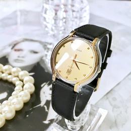 RADO ラドー デイト レザーベルト コンビ クォーツ 腕時計