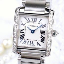 Cartier/タンクフランセーズ ダイヤモンド25P