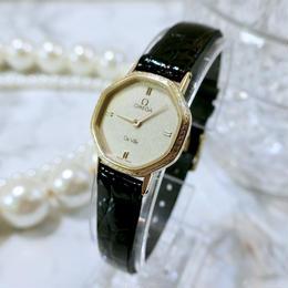 OMEGA オメガ デビル デザインベゼル クォーツ レディース 腕時計
