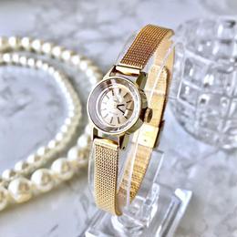 OMEGA オメガ デビル カットガラス ベルト2種付き 手巻き レディース 腕時計